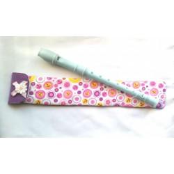 Funda Flauta Flores